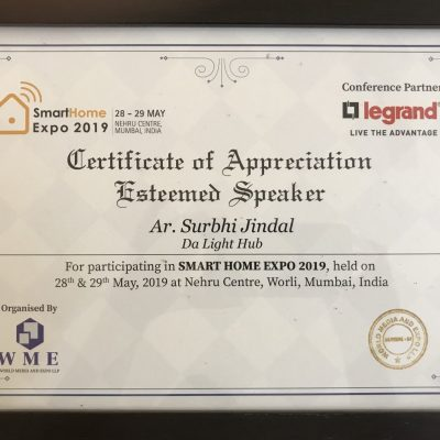 Appreciation by World Media Expo